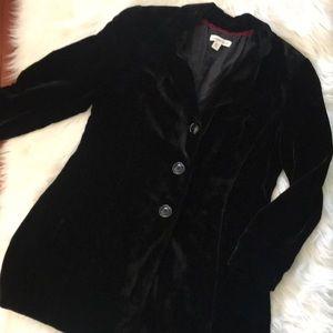 Beautiful Coldwater Creek Velvet Long jacket - 14P